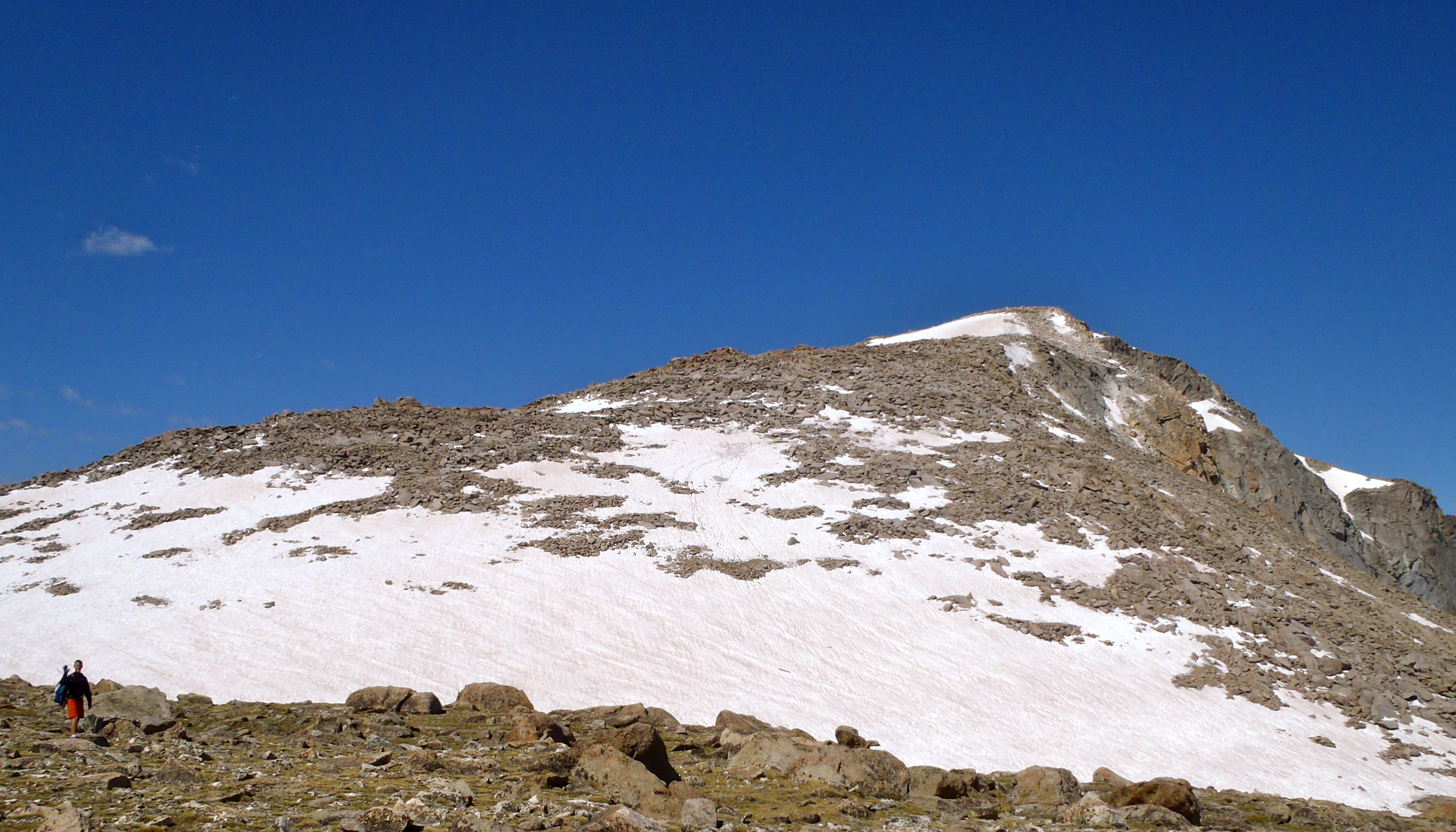 The target: Wind River's summit.