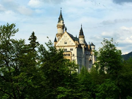 Neushwanstein Castle.