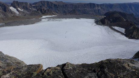 Upper Fremont Glacier.