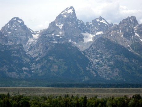 The majestic Grand Teton stands 13,770' tall and there's no easy way to its top.