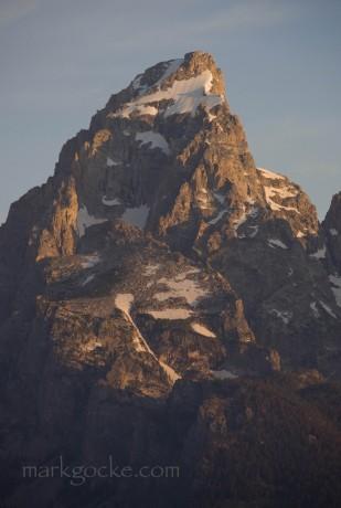 The 13,770-feet-tall Grand Teton.