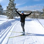 Skate Skiing in my Backyard: the Continental Divide & the southern Wind River Range