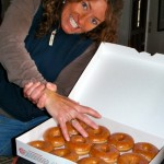 Shelli: 1; Krispy Kremes: 0
