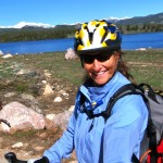 Biking to Frye Lake, in Wind River Range