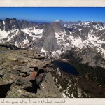 Epic views, including Lonesome Lake and the spectacular Cirque of the Towers, and more.
