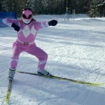 This is me, the Pink Power Ranger.