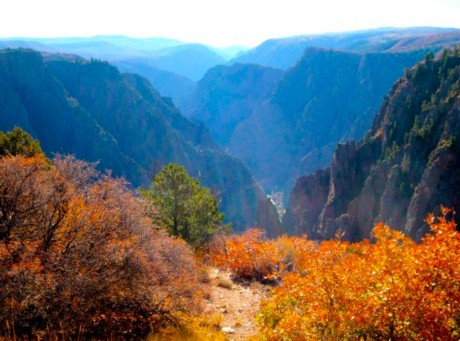 Black Canyon of the Gunnison National Park, near Montrose, CO.