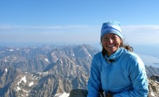 Feeling on top of the world Aug. 3 on top of the Grand Teton.