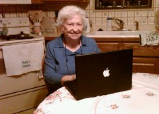 My Grandma Sniffin is on Facebook. She's 85.
