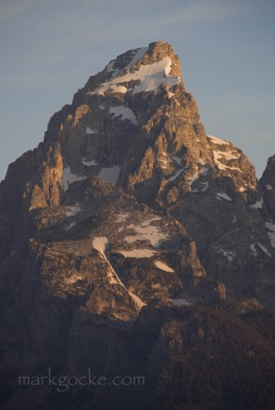 The 13,770-feet-tall Grand Teton.