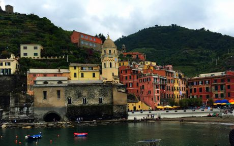 Beautiful Vernazza from its pier.