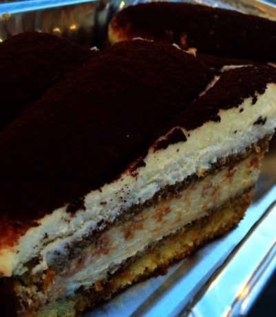 A perfect ending to a perfect day - Tiramisu!