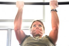 Me, trying to muster enough gumption to do one more pull up. (MeiRatz.com photo)