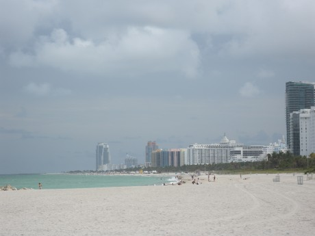 View of South Beach from hotel's beach.