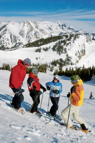 Jackson Hole Mountain Resort has something for everyone. (Photo by Ken Redding)